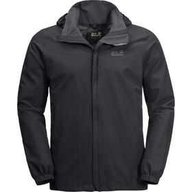 Jack Wolfskin Stormy Point Jas Heren, black